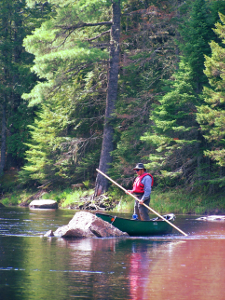St  Croix River Canoe Tour in eastern Maine