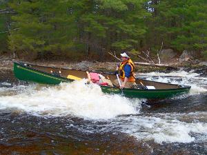 Machias River Canoe Trip in eastern Maine